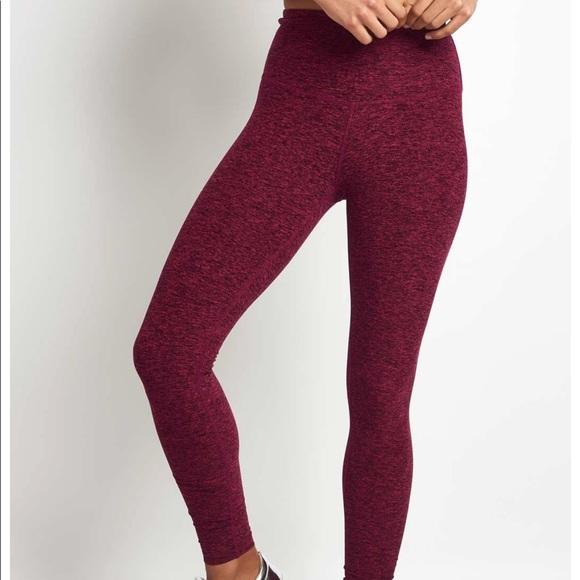 4ec1a0eb75fb2 Beyond Yoga Pants | Space Dye Take Me Higher Leggings | Poshmark